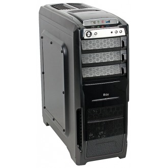 Компьютерный корпус SunPro Ray w/o PSU Black