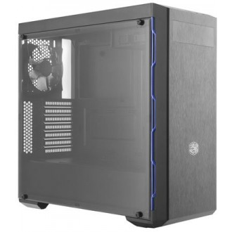Компьютерный корпус Cooler Master MasterBox MB600L  w/o PSU Black/blue