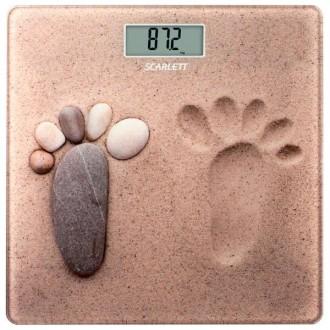 Напольные весы Scarlett SC-218 sand