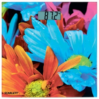 Напольные весы Scarlett SC-BS33E001 Flowers