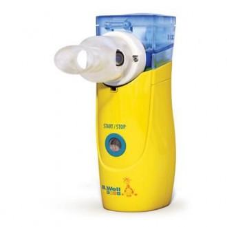 Ингалятор электронно-сетчатый B.WELL WN-114 Child Yellow
