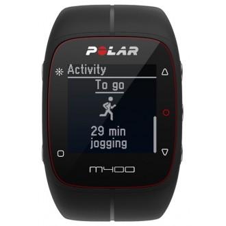 Спортивные часы Polar M400 HR  Rubber Black