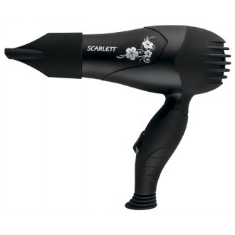 Фен Scarlett SC-HD70I04 Black