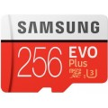 Карта памяти Samsung EVO Plus microSD 256GB (MB-MC256GA/RU) Red
