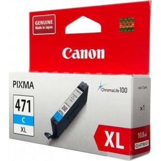 Картридж CANON CLI-471XLC 0347C001 голубой