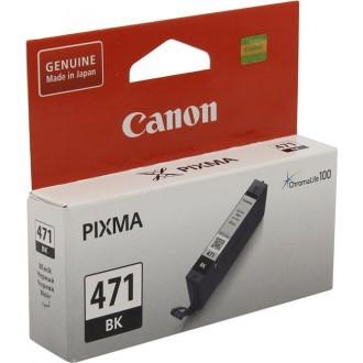 Картридж CANON CLI-471BK 0400C001 черный