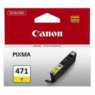 Картридж CANON CLI-471Y 0403C001 желтый