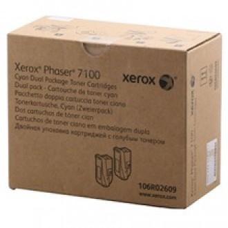Картридж XEROX 106R02609 голубой