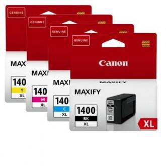 Набор картриджей CANON PGI-1400XL BK/C/M/Y 9185B004 многоцветный