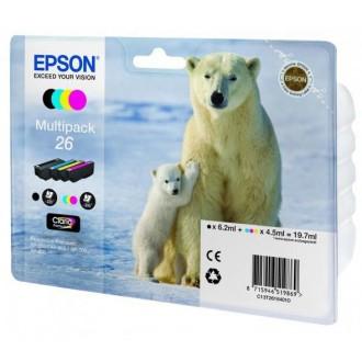 Набор картриджей EPSON T2616 C13T26164010 многоцветный