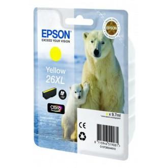 Картридж EPSON T2634 C13T26344010 желтый