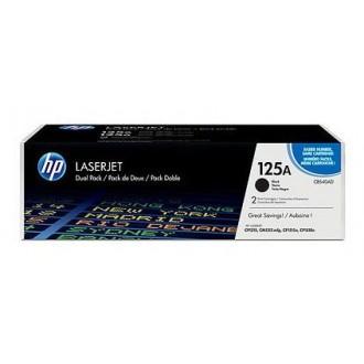 Двойная упаковка картриджей HP 125A CB540AD черный