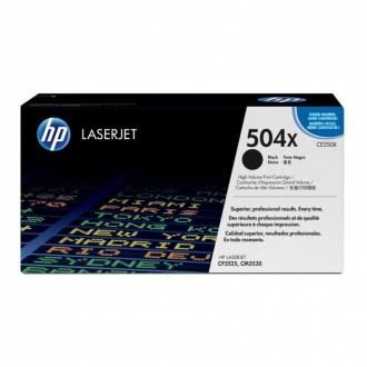 Картридж HP 504X CE250X черный