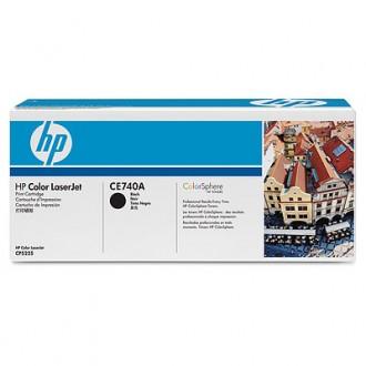 Картридж HP 307A CE740A черный