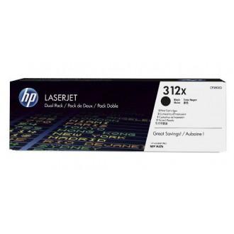 Двойная упаковка картриджей HP 312X CF380XD черный