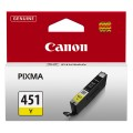 Картридж CANON CLI-451Y 6526B001 желтый