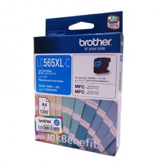 Картридж BROTHER LC565XLC голубой