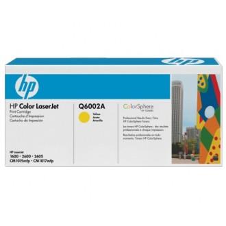 Картридж HP 124A Q6002A желтый