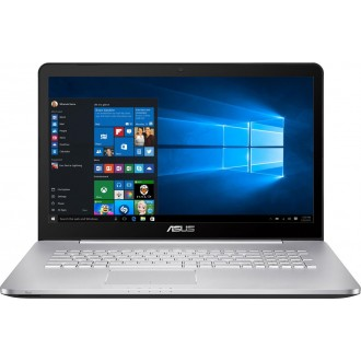 Ноутбук ASUS N752VX-GC189T Silver