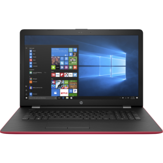 Ноутбук HP 17-ak034ur  red