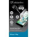 Защитное стекло для iPhone Cellular Line для iPhone 7 (TEMPGLASSIPH747)
