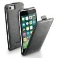 Кейс для iPhone Cellular Line для iPhone 7 (FLAPESSIPH747K) Black
