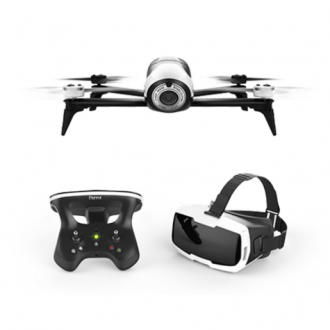 Квадрокоптер Parrot Bebop 2 FPV White + Skycontroller 2 + VR очки Cockpitglasses