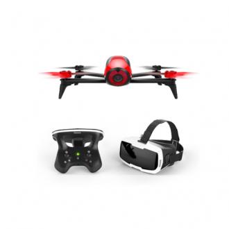 Квадрокоптер Parrot Bebop 2 FPV Red + Skycontroller 2 + VR очки Cockpitglasses