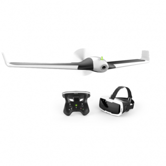Квадрокоптер Parrot Disco FPV + Skycontroller 2 + VR очки Cockpitglasses