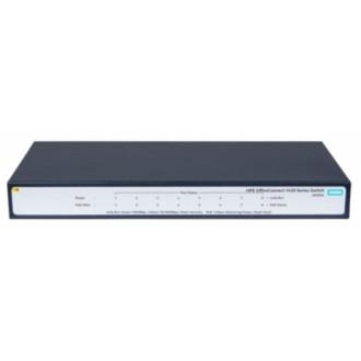 Коммутатор HP OfficeConnect 1420, 8G, PoE+ Black
