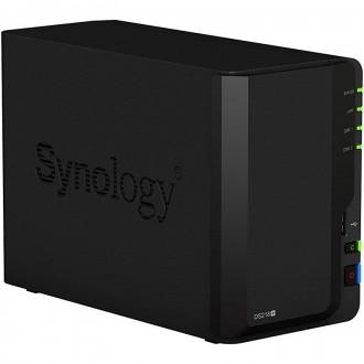 Сетевое хранилище NAS Synology DS218+ Black