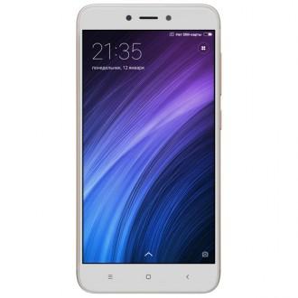 Смартфон Xiaomi Redmi 4X 16Gb Gold