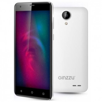 Смартфон Ginzzu S5510 White