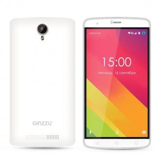 Смартфон Ginzzu ST6120 White