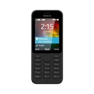 Мобильный телефон Nokia 215 Dual Sim Black