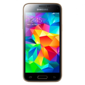 "Смартфон Samsung GALAXY S5 mini SM-G800F 4.5"" LTE 16Gb  Gold"