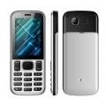 Мобильный телефон VERTEX D510 Black Silver (D510MET)