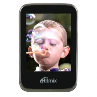 Портативный медиаплеер Ritmix RF-8500 4Gb Black