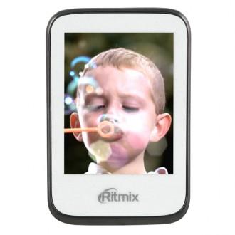 Портативный медиаплеер Ritmix RF-8500 4Gb White