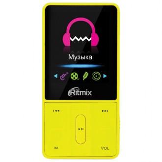 Портативный медиаплеер Ritmix RF-4550 8Gb Yellow