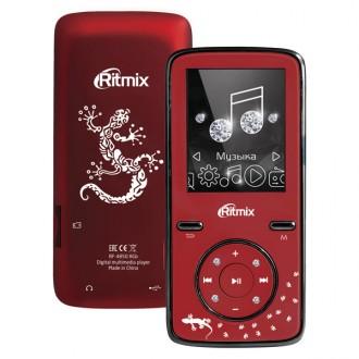Портативный медиаплеер Ritmix RF-4850 8Gb Dark Red