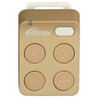 Портативный медиаплеер Ritmix RF-2500 4Gb Gold