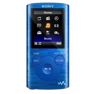 Портативный медиаплеер Sony NWZ-E383/LC Blue