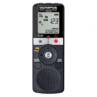 Диктофон цифровой Olympus VN-7700 Black
