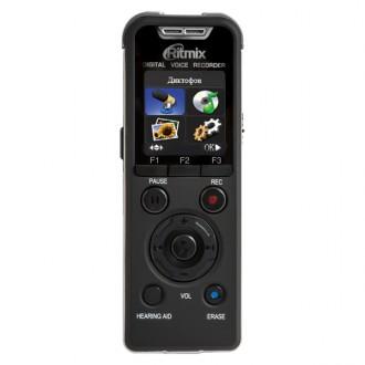 Диктофон цифровой Ritmix RR-980 8Gb Black