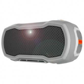 Портативная акустика BRAVEN Ready Pro Grey/Orange