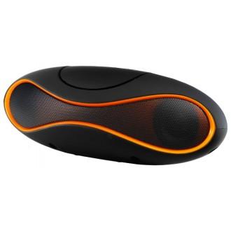 Портативная акустика Ginzzu GM-997B Black/Orange