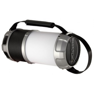 Портативная акустика Ginzzu GM-889B Black/Silver