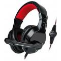 Игровые наушники MARVO H8329 Black/Red
