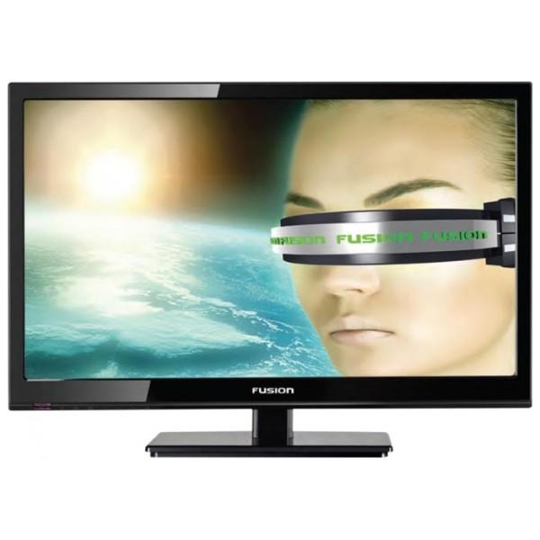 FUSION Телевизор Fusion FLTV-22L31B черный